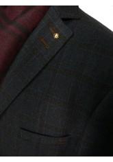 Пальто/  2053У-1 S CHEK DK NAVY LUX