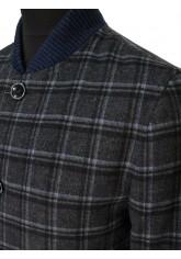 Пальто/  2073У S DK. NAVY BLUE CHECK